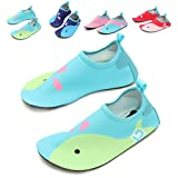 Amazon Price History for:L-RUN Kids Swim Water Shoes Barefoot Aqua Socks Shoes for Beach Pool Surfing Yoga