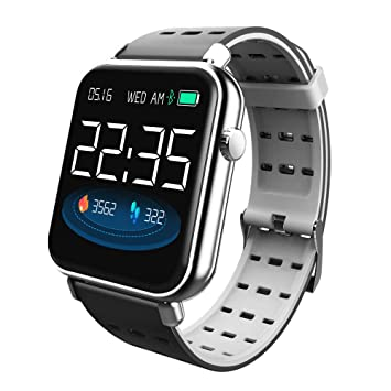 JAYLONG Sport SmartWatch Hombres Mujeres Divertido Icono ...