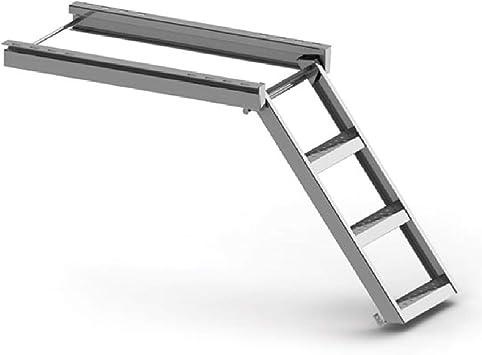 Escalera de mano escalera de construcción escalera de camión remolque (escalera de mano de 3 pasos): Amazon.es: Bricolaje y herramientas