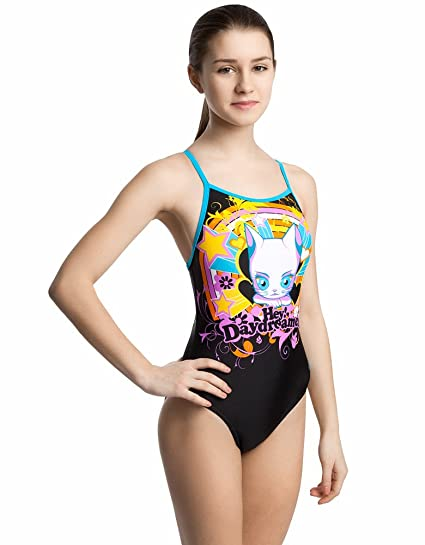 93aa643d6e Amazon.com   Mad Wave Juniors Daydreamer Swimsuit   Sports   Outdoors