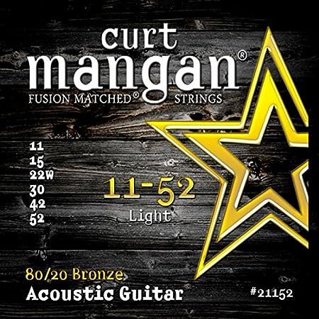 Curt Manganeso Strings 21152Guitarra Cuerdas