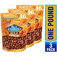 Blue Diamond Almonds, Bold Habanero BBQ, 16 Ounce (Pack of 3)