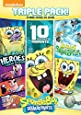 SpongeBob SquarePants Triple Feature: 10 Happiest Moments, Heroes of Bikini Bottom, Legends of Bikini Bottom