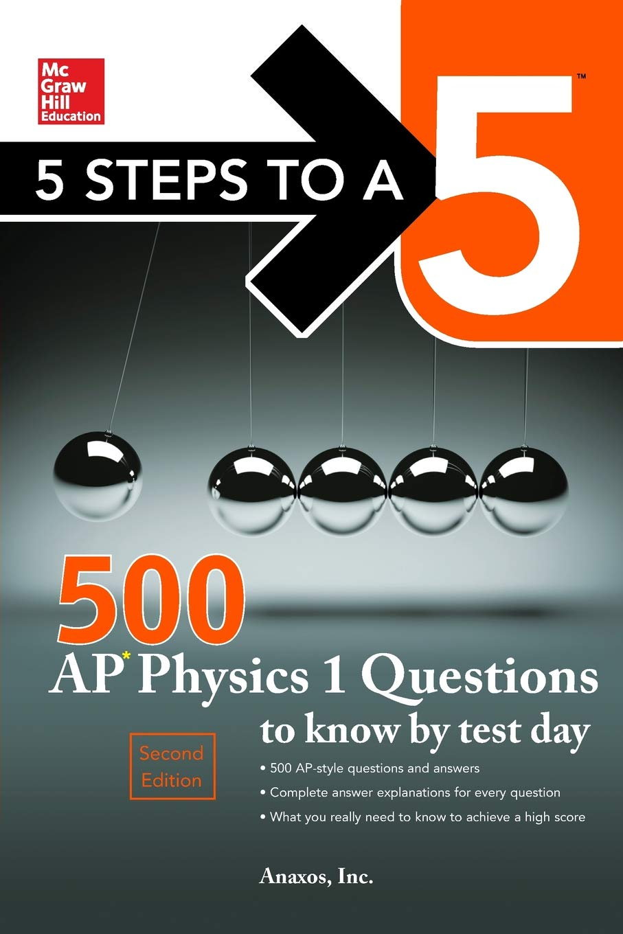 Buy 5 Steps to a 5 500 AP Physics 1 Questions to Know by Test Day (Mcgraw  Hill's 500 Questions to Know by Test Day) Book Online at Low Prices in  India ...