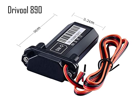 Drivool 890, Multi-Purpose Waterproof, GPS Tracking Device for  CAR/Bike/Bus/All Vehicles