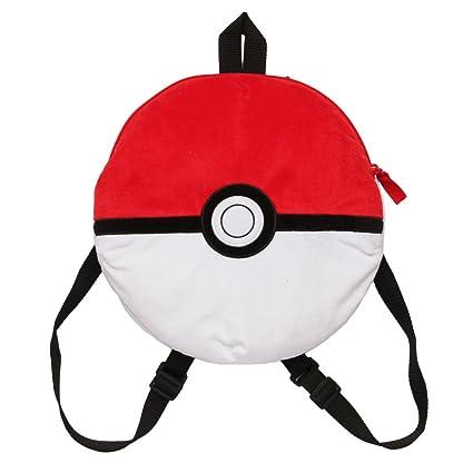 Amazon.com  FABNY Pokemon Pokeball Plush Backpack  Toys   Games 05e95d3c0dfe8