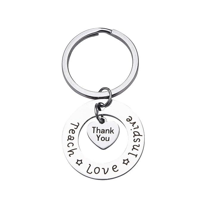 Amazon.com: Llavero personalizado para profesor, regalo de ...