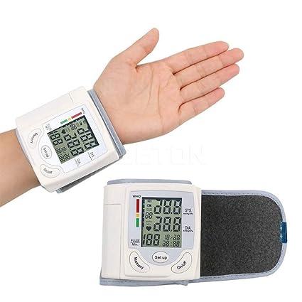 Clio Clinic B- Tensiometro digital electrónico de muñeca tensión arterial.