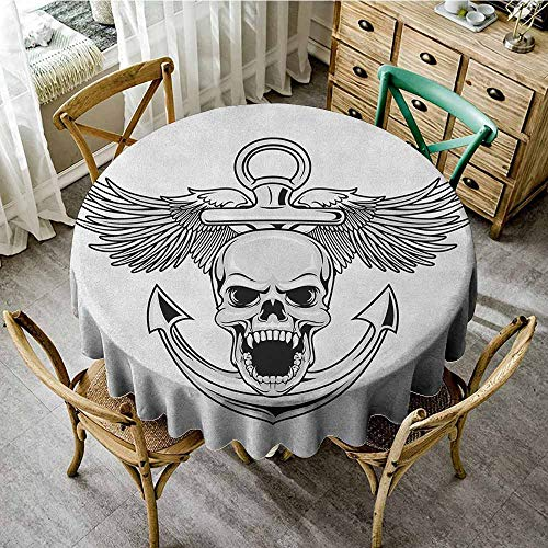 (Rank-T Round Tablecloth Summer 50