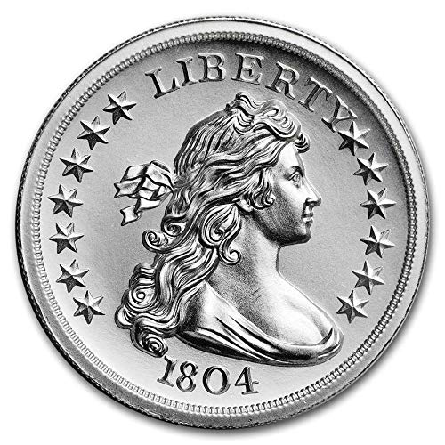 Tribute: ''Bowed Liberty $,'' 1804 $ | 2 oz High Relief Round by Intaglio