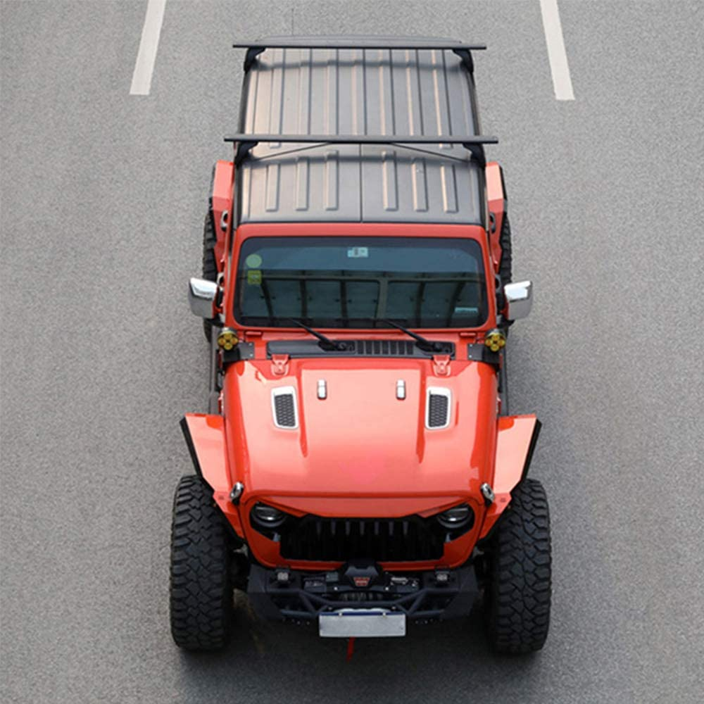 Snailfly Cross Bars Roof Rail Racks Fit for 2007-2018 Jeep ...