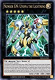 YuGiOh Number S39: Utopia the Lightning - YZ08-EN001 - Ultra Rare - Limited Edition