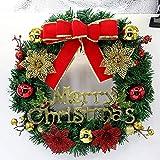 Denzar 16Inch Nativity Scene Christmas Wreath for Door Wall Decoration (Ship from US)