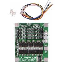 Batteriladdning Protection Board 4S 30A 14.8V LiFePO4 LiFe 18650 Batteri BMS PCB modul med balans, Komponenter
