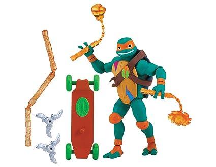 Teenage Mutant Ninja Turtles The Rise of The Basic Action Figures - Mikey The Ninja Artist