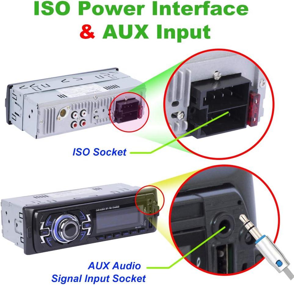 Untersttzt RDS/AUX/USB/SD 4x60W 1 Din Autoradio FM Radio ...