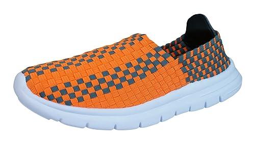 Air Tech Pessoa Zapatillas de Deporte para mujer-Orange-35