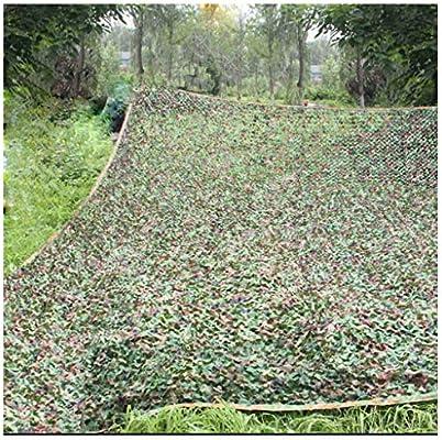 Huoo Al Aire Libre Visera Red de Camuflaje, Protección Solar Techo Exterior Decoración Jardín Náutico Jardín Transpirable Sombreado Tema Militar (Size : 6X8M): Amazon.es: Hogar