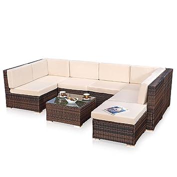 Amazon.De: Xxl Lounge Gartenmöbel Set Sitzgruppe Garten Sofa +