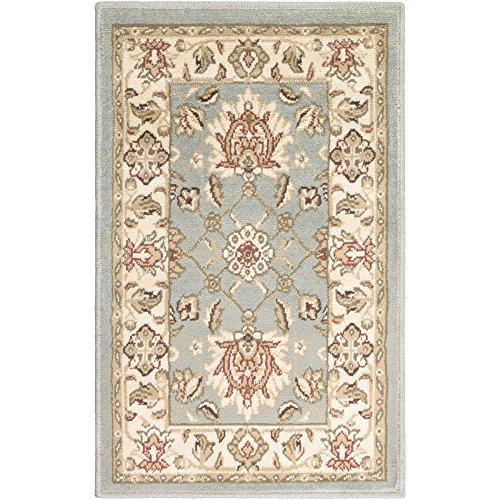 Surya PAR-1028 Paramount Pile Area Rug, 2-Feet by 3-Feet, Lily Pad Green (Pad Area Rug Lily)