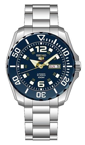 Seiko Reloj Analogico para Hombre de Automático con Correa en Acero Inoxidable SRPB37K1: Seiko: Amazon.es: Relojes