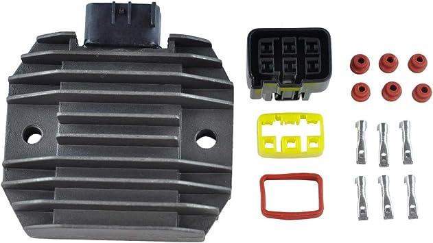 V Star 650 1100 1998-2004 VStar OEM Repl.# 5BN-81960-00-00 Voltage Regulator Rectifier for Yamaha Road Star 1600 1700 Midnight//Silverado