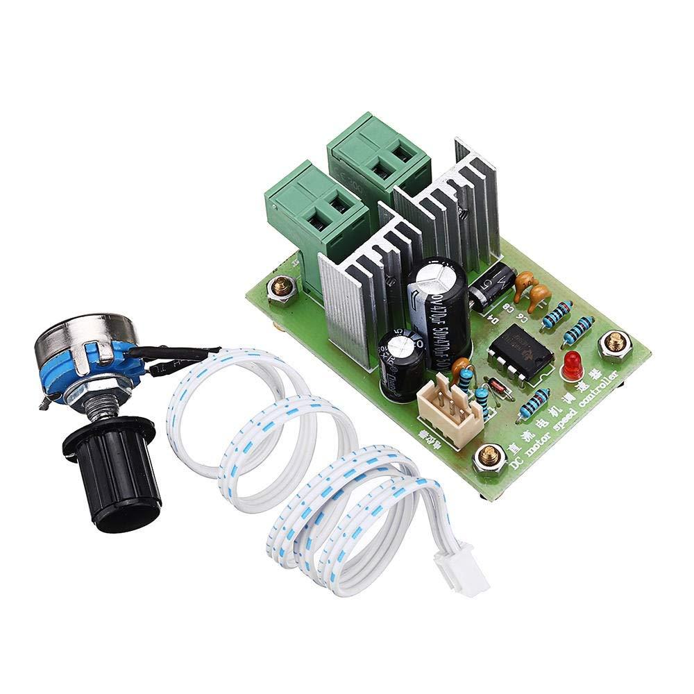 YONH Wa Module de Test 36V 24V 12V CC 10A PWM Largeur dimpulsion Contr/ôleur CC R/égulateur De Vitesse Moteur R/égulateur Commutateur Modules de m/émoire