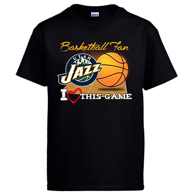Camiseta NBA Utah Jazz Baloncesto Basketball Fan I Love This Game: Amazon.es: Ropa y accesorios