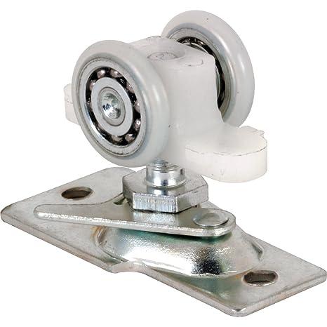 Pocket Door Rollers >> Slide Co 163601 Pocket Door Roller With Base Plate And 2 Wheel Ball Bearing