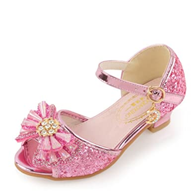 Amazon edv0d2v266 summer children sandals girls princess edv0d2v266 summer children sandals girls princess beautiful flower shoes kids flat sandals baby girls pink mightylinksfo