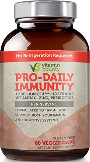 Amazon.com: La vitamina Bounty - Apoyo Inmune Pro-Daily - 10 ...