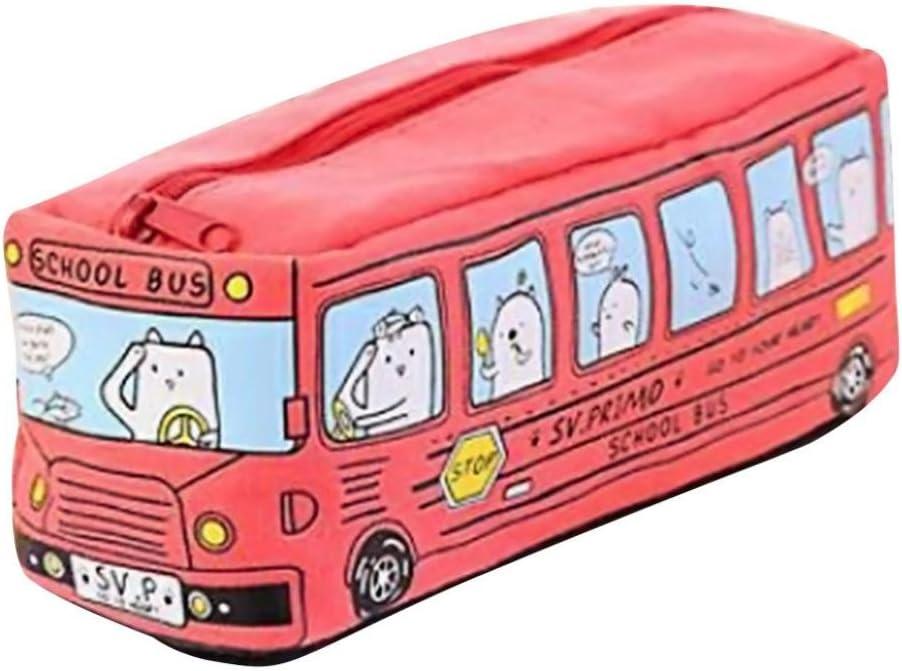 estuches escolares casual Switchali ninos moda Papelería Bolígrafo Estuche Escolar Artículo de papelería Ideal para Estudiantes de chicas ninas Bolsa de maquillaje de ninos (Rojo): Amazon.es: Oficina y papelería