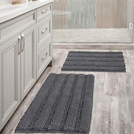 Bath mat Bathroom carpet Bathroom Rug Rug Shower Mat Non-Slip Set