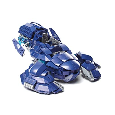 Mega Bloks Halo Covenant Wraith Ambush: Toys & Games