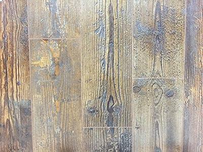 12mm Wood Laminate Flooring - Distressed Chestnut