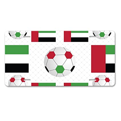 Amazon Com Pangera United Arab Emirates Dubai Country Flag Soccer