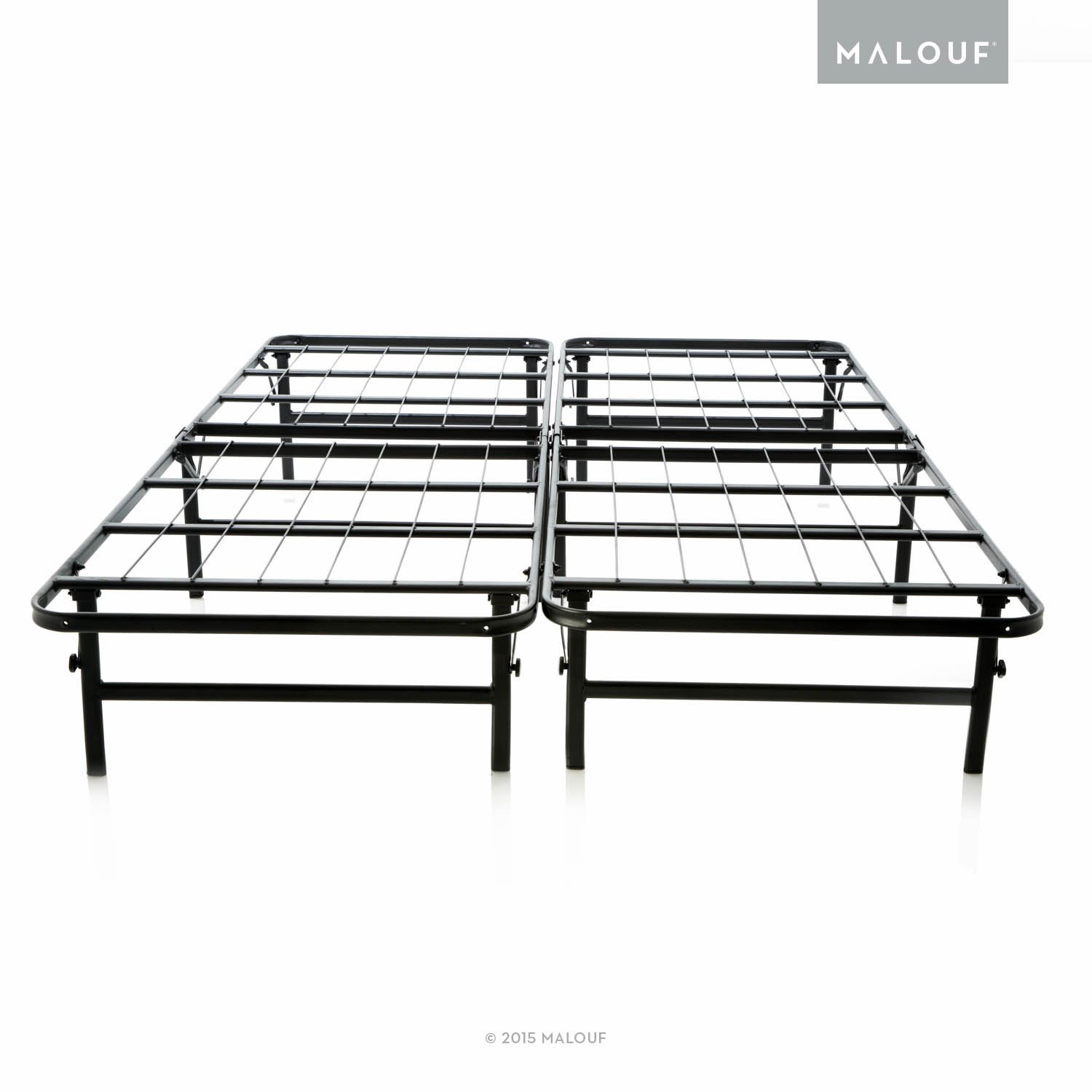 Amazon.com: STRUCTURES Foldable Bed Base - Platform Bed Frame and ...