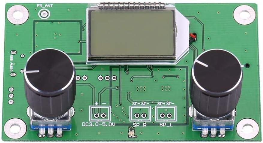 Fm Empfänger Fm Empfänger Steuermodul Diy Digital Stereo Fm Radio Empfängermodul Mit Serieller Schnittstellensteuerung Baumarkt