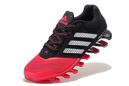 wholesale dealer 1d76a d52a3 adidas Springblade Drive 2.0, De Hombre, 10US, Negro Rojo Blanco