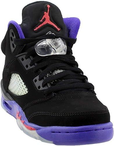 Amazon.com: Nike Jordan Big Kids Retro 5 Zapatos de ...