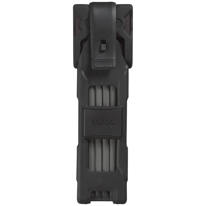 Abus Bordo 6000 Folding Lock, 75 cm, Black, Medium