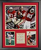 """Legends Never Die San Francisco 49ers 1980s Big Three Framed Photo Collage, 16"""" x 20"""""""