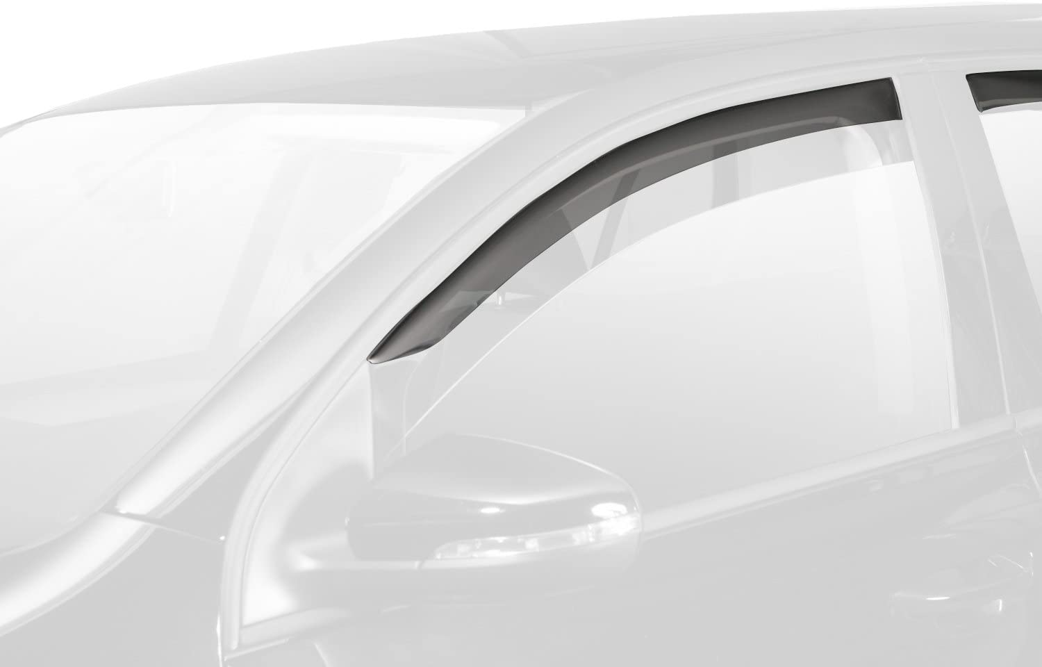 Front Rear Wind Deflectors Fits Toyota AURIS 7 on 5-Door Hatchback HEKO-29390 4 Pieces