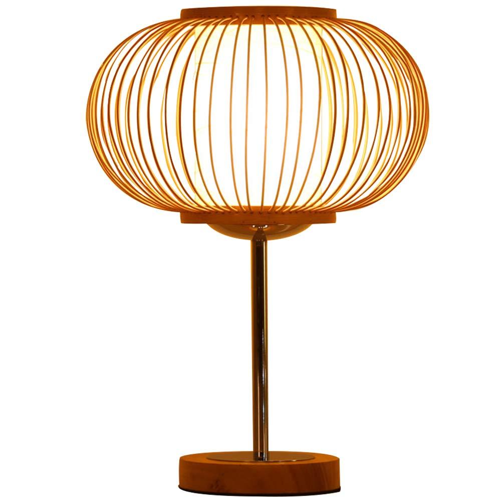 Handgemachte Rattan Lampshade Tischlampe Pendant Or Table Shade, Bettlenseite Bettlenseite Bettlenseite Bambus geflochtene Doppel-Hautschugelampe, Apple Shape Natural braun (25  35cm) B07PFX2DL8 | Modern  bdd71c