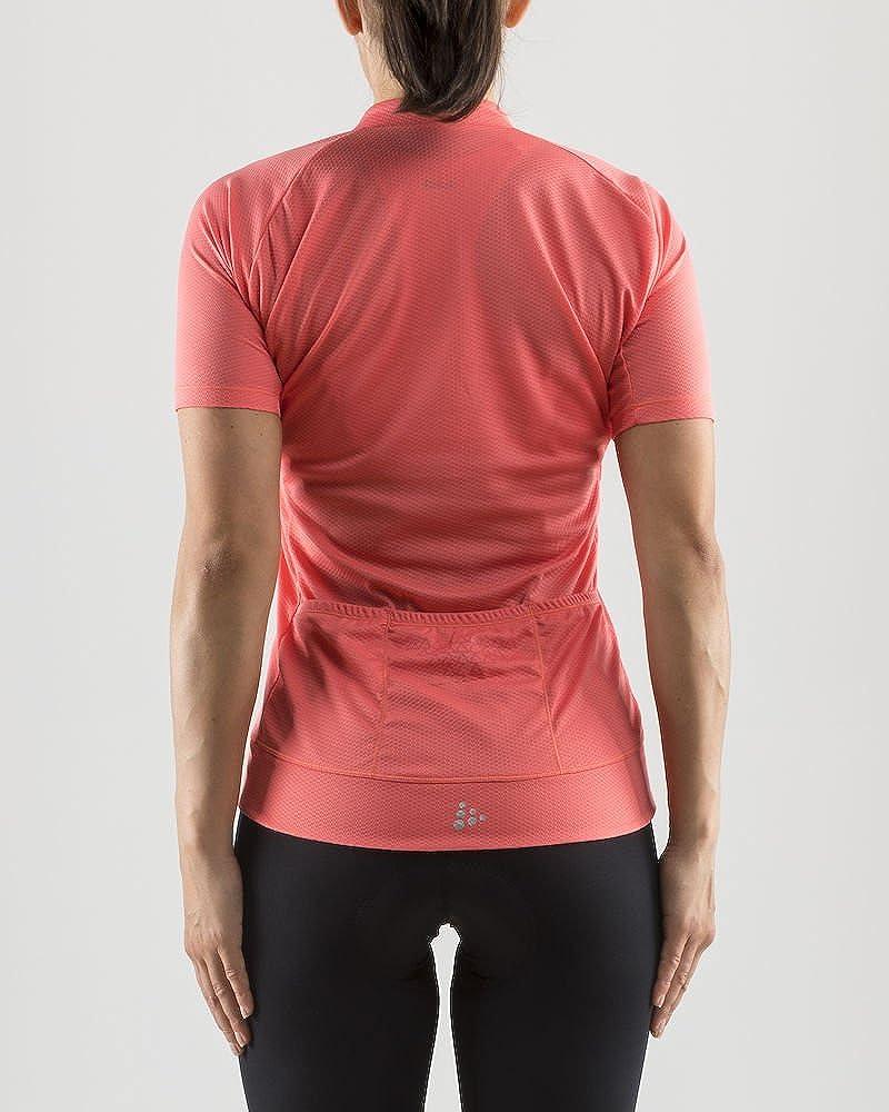 Craft Womens Rise Bike and Cycling Training 1//4 Zip Short Sleeve Jersey