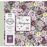 First Edition Mariposa - Flowers Scrapbook Album - Flowers 12''x12'' (Snap Load)