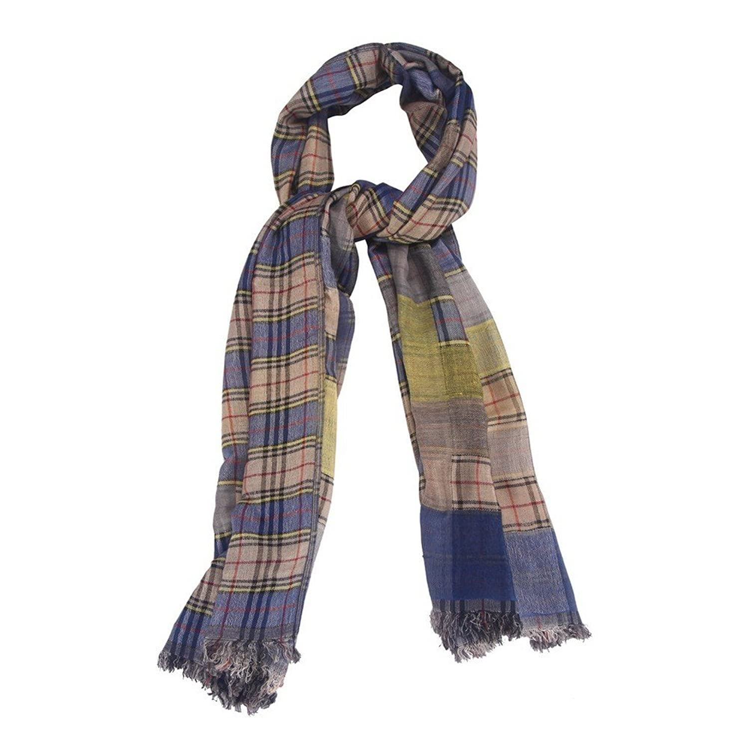 Scarf Soft Tartan Made With Cotton & Polyester by JOE COOL