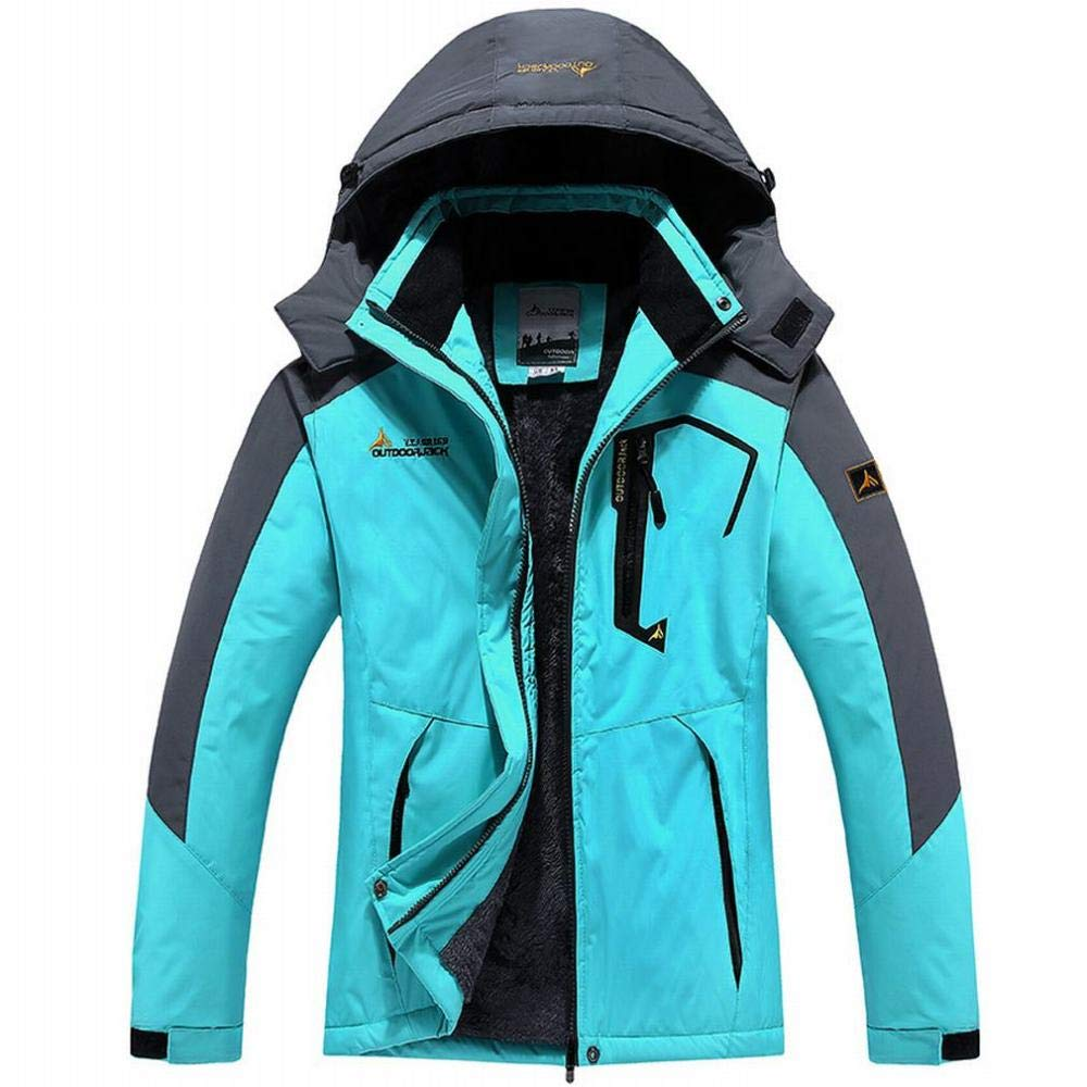 Femmes-bleu M YG Veste d'hiver Et Veste épaissie en Velours pour Hommes Et Femmes VêteHommests d'alpinisme en Plein Air