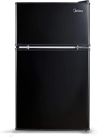 Midea (3.1 Cu. Ft) Compact Refrigerator - Black