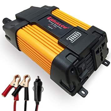 736cb805e30645 Liefallow Convertisseur 1000W Transformateur de Tension DC 12V 220V à 240V  avec 2 Ports USB 1